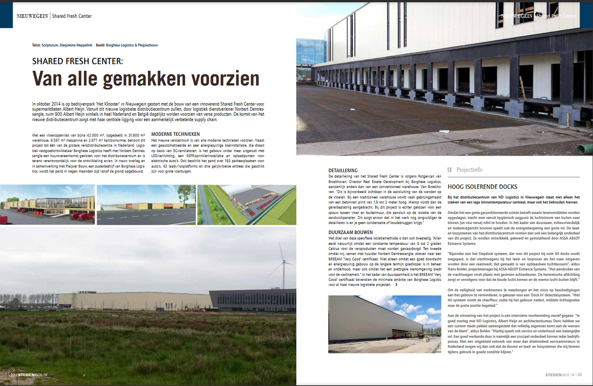 Voets & Donkers - Shared Fresh Center Albert Heijn - Architectenblad