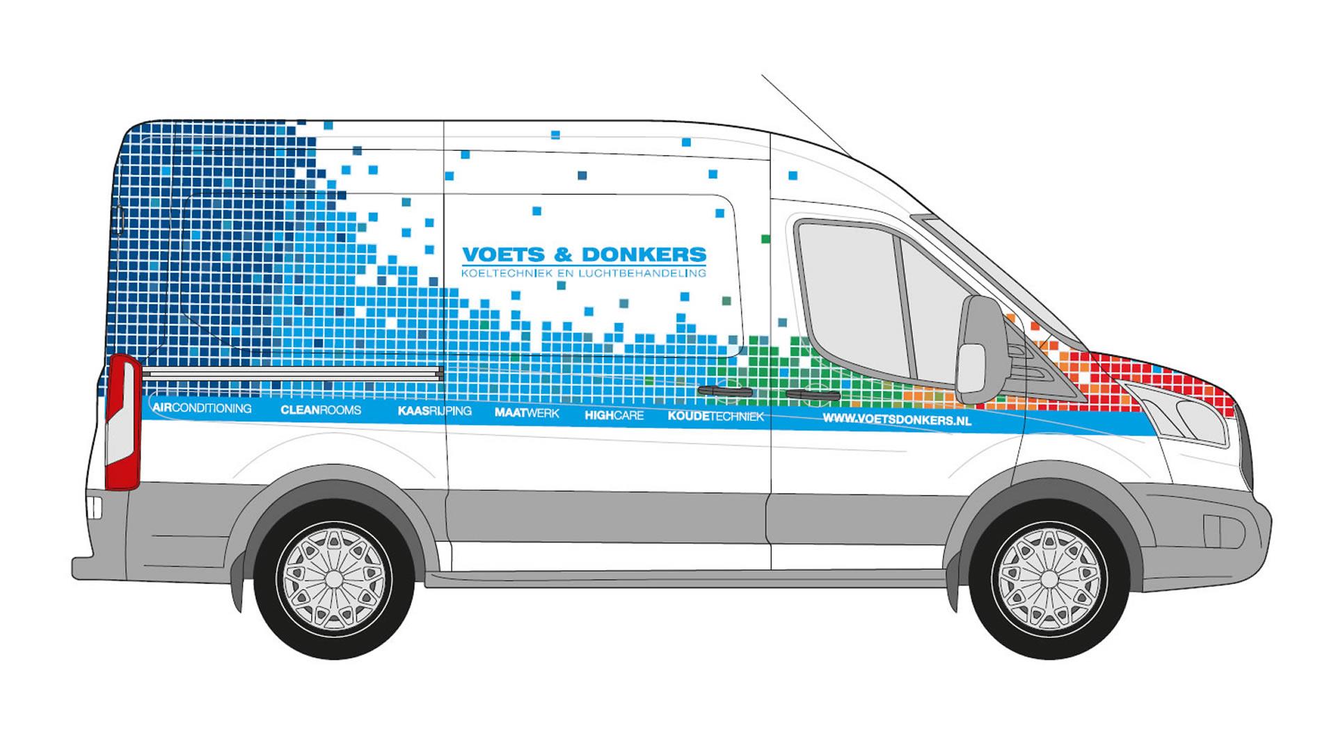 Voets & Donkers - Bedrijfsbus